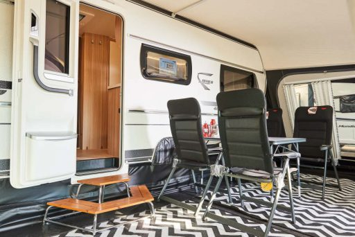 Showroom caravan centrum emmen